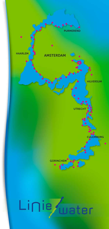 Liniewater Gebied Hollandse Waterlinies