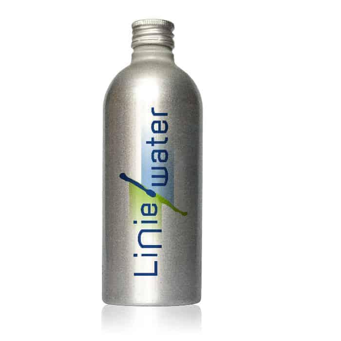 Liniewater aluminium veldfles